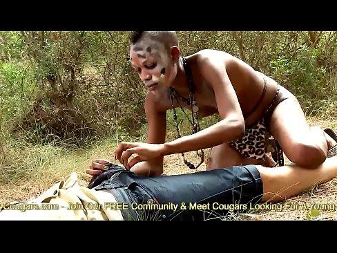 Negresa Dintr-Un Tribal E Fututa De Toti Membrii Tibarului Africa